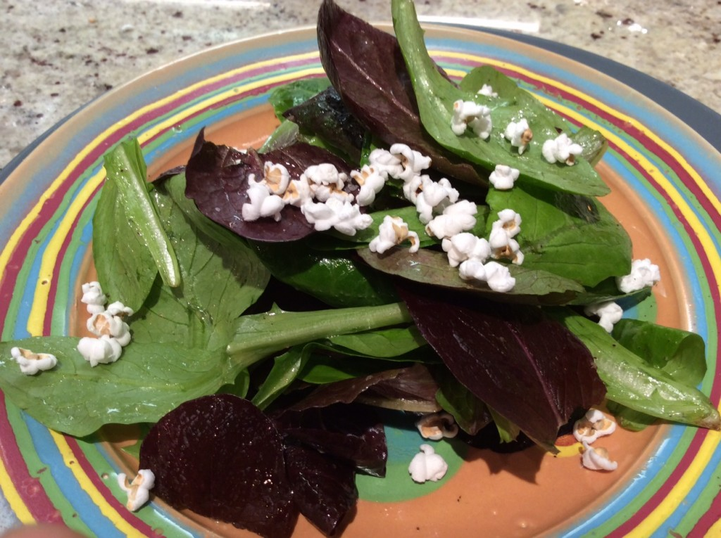 popped sorghum salad