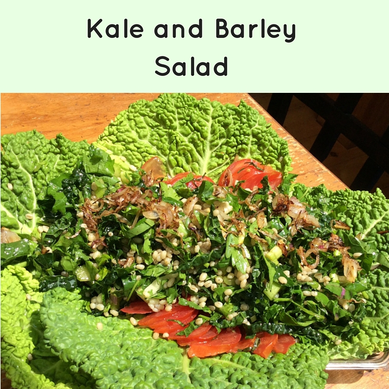 Kale and Barley Salad
