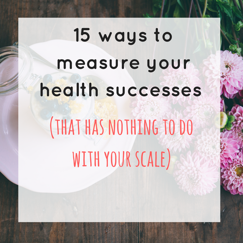 15 ways to measure your health successes