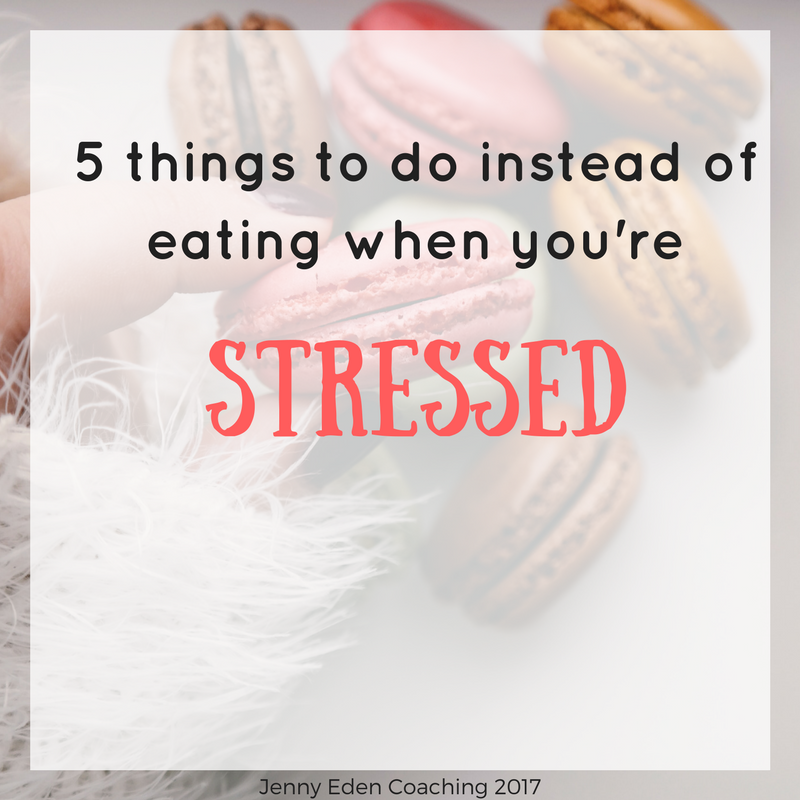 Stressed eating