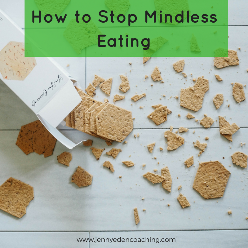 How to Stop Mindless Eating