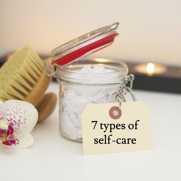 7 types of self-care